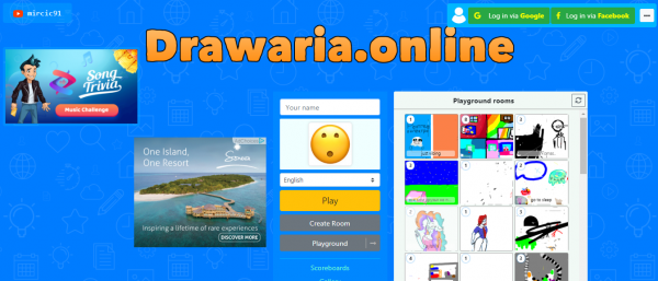 Drawaria.online game poster