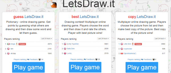 LetsDraw.it game poster